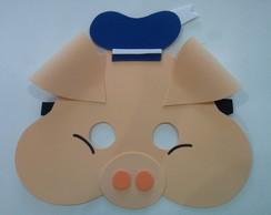 mascara 3 porquinhos