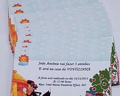 Convite Lobo Mau e os Tr�s Porquinhos
