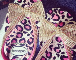 Chinelo On�a Pink