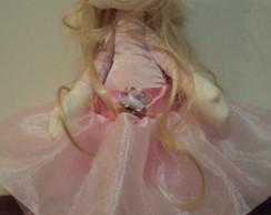 Boneca bailarina articulada