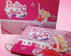 �lbum Com Caixa Barbie Sapatilhas
