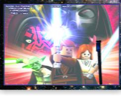 Star Wars Lego Quadro M�gico