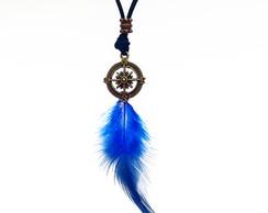 Colar Prote��o Ancestral Azul