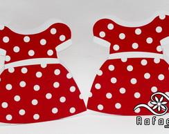 Caixa Roupa Mickey e Minnie