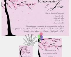 Convite digital casamento combo