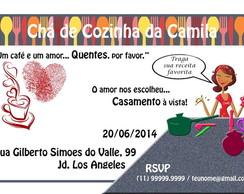 Convite Digital Cha de Cozinha