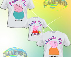 Kit Camiseta - Peppa Pig