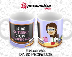 Caneca Dia do Professor - 9