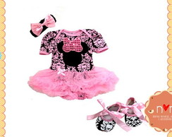 Bodysuit Pettiskirt Minnie Rosa