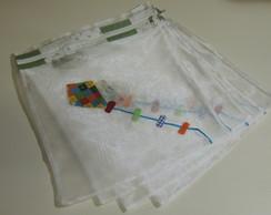 Kit 6 Saquinhos Para Maternidade Pipas