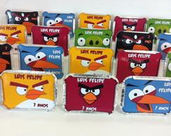 Kit 40 marmitinhas angry birds