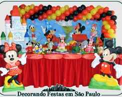 Decora��o Mesa Turma do Mickey