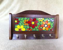 Porta Chaves e Correspond�ncia Floral