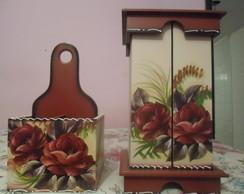 Kit Cozinha flor
