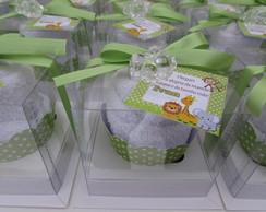 Cupcake de toalha personalizado