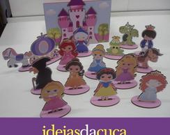 Brinquedo Caixa Divertida Princesas MDF