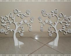 2 �rvores decorativas