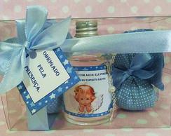 Kit para batismo com sache perfumado