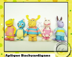 Aplique Backyardigan