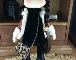 Boneca de pano russa- boneca Brenda