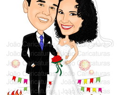 Caricatura de casais