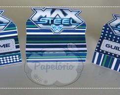 Embalagem para Bis - Max Steel