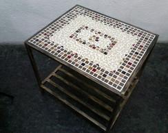 Mesa de Centro em Mosaico