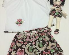 Pijama Infantil 100% Algod�o