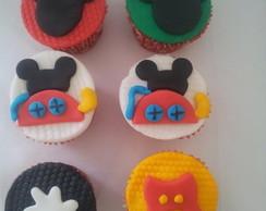 Cupcake da Casa do Mickey