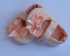 Sapatilha Floral Rosa