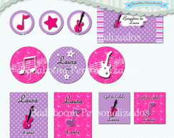 Kit Festa Infantil Barbie Pop Sta (arte)