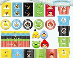 Kit Festa Infantil Angry Birds III (arte