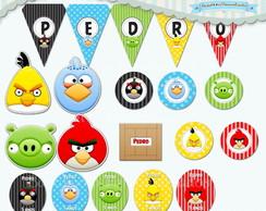 Kit Festa Infantil Angry Birds II (arte)