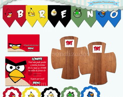 Kit Festa Infantil Angry Birds (arte)