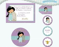 Kit Festa Infantil Jasmine (arte)