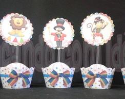 Wrapper para Cupcake Circo