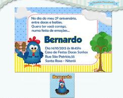 Convite Galinha Pintadinha III