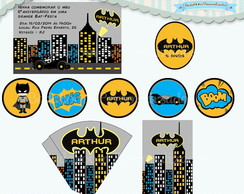 Kit Festa Infantil Batman (arte)