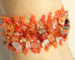 PULSEIRA HIPPIE CHIC ORANGE !