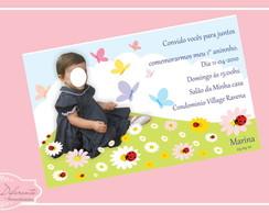 Convite Digital Flores