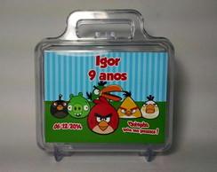 Maletinha Acr�lica - Angry Birds