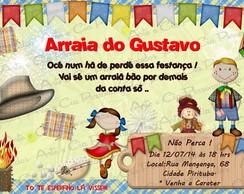 Convite Personalizado - Festa Junina