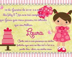 Convite Personalizado - meninas
