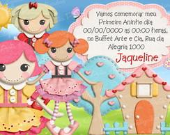 Convite Personalizado - Lalaloopsy