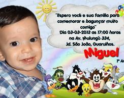 Convite Personalizado Looney Tunes 2