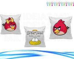 Trio de capas almofada - Angry Birds