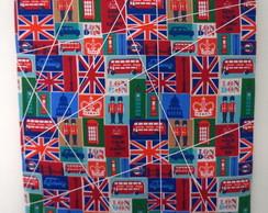 Mural de Recados e Fotos London 30 x 40