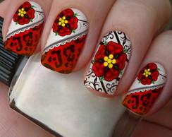 Pel�culas Casadinha 288.floral vermelho