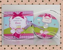 CD ou DVD Personalizado Peppa Pig