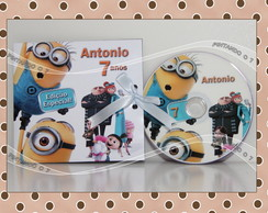 CD ou DVD Personalizado Minions